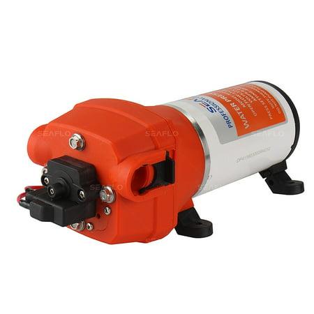 SEAFLO 41-Series Water Pressure Diaphragm Pump - 12V DC, 4.5 GPM, 40 PSI for RV/Boat/Marine