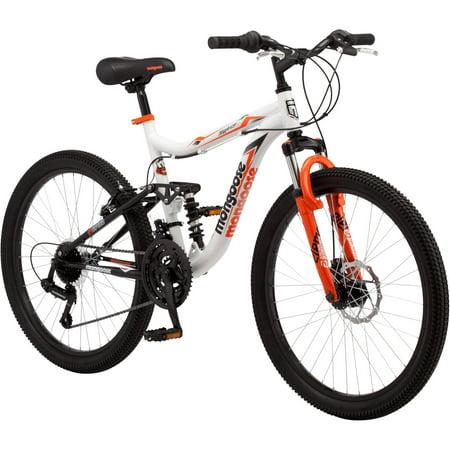 Awe Inspiring 24 Mongoose Trail Blazer Boys Mountain Bike White Lamtechconsult Wood Chair Design Ideas Lamtechconsultcom