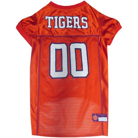 Clemson Tigers Dog Jersey - Pets First College Clemson Tigers Collegiate Dog Jersey, Available in Various Sizes