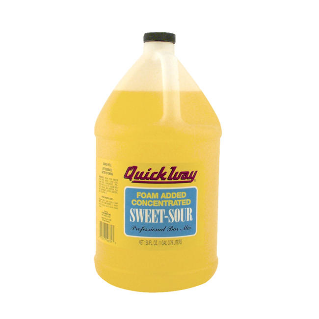 La Paz QuickWay Sweet and Sour Concentrate with Foam