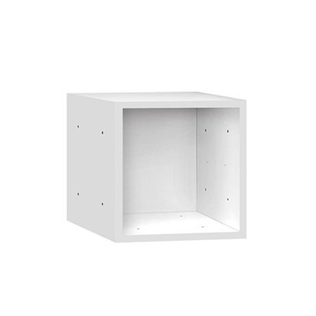 salsbury 31212wht wood cubby 12 inch cube white. Black Bedroom Furniture Sets. Home Design Ideas