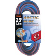 Prime Extra Heavy Duty 25-Foot Arctic Blue All-Weather TPE Extension Cord
