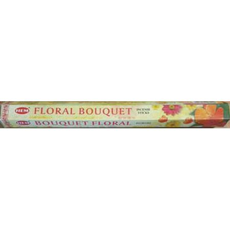 HEM Incense Floral Bouquet 20pk Sticks Special Floral of Light Little Flowers of Tangy or Tart Create Spring Atmosphere Home Create Relaxing Atmosphere Into Your Home Prayer Meditation Aromatherapy