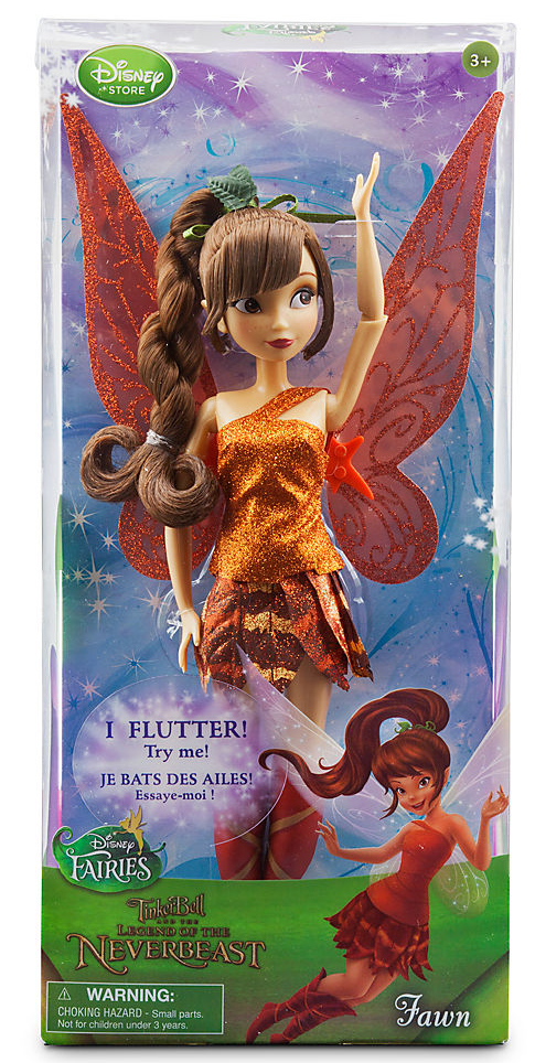 Disney Fairies Tinker Bell and the Legend of the NeverBeast Fawn Doll by