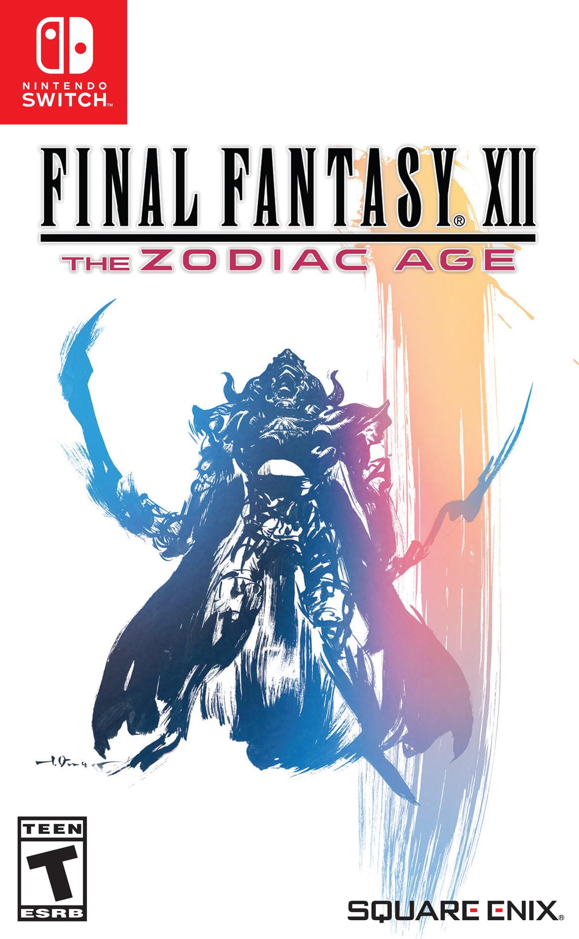 Final Fantasy Xii The Zodiac Age Square Enix Nintendo Switch