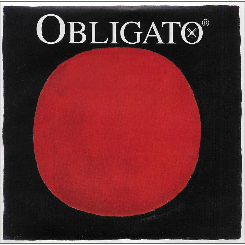 Pirastro Obligato Series Violin String Set 3 4-1 2 Size Medium by Pirastro
