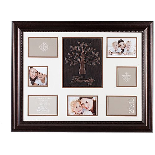 Pinnacle Frame Family Tree Collage Frame 18x24 Bronze