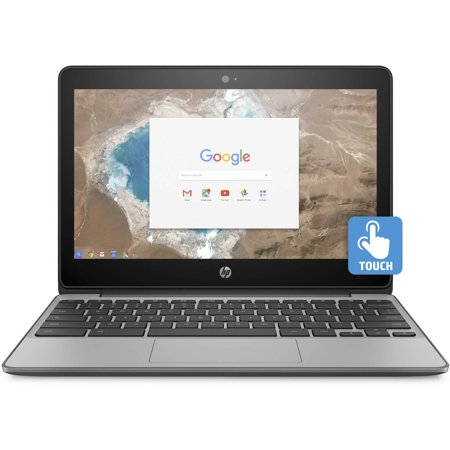 "Refurbished HP 11-v020wm 11.6"" Chromebook, Touchscreen, Chrome, Intel Celeron N3060 Processor, 4GB"