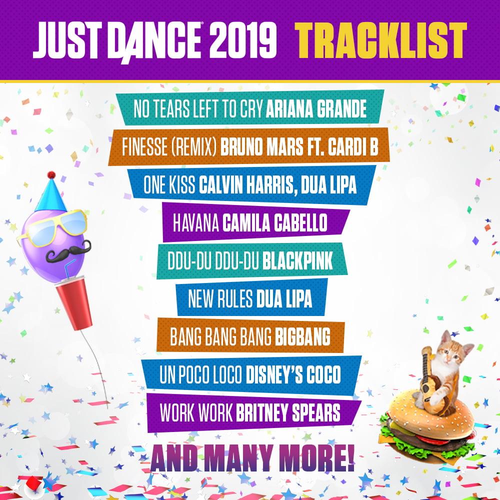Just Dance 2019 Wii Standard Edition Walmart Com