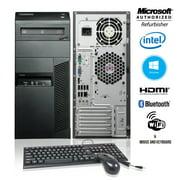 Lenovo ThinkCentre M91p Tower Desktop Core i5 2400 8GB RAM 250GB HDD Windows10 Home HDMI Adapter WiFi A Grade PC