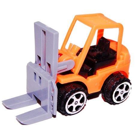 Pull Back Car Mini Car Forklift Toy Car Model Excavator - image 2 de 6