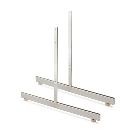 GL24-CH T Shaped Leg for Gridwall, Chrome - image 1 of 1