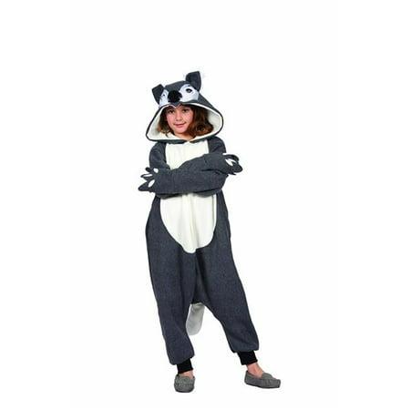 Smoochi Squirrel Child Funsie Costume - - Squirell Costume