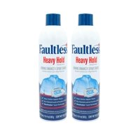 Laundry Starch Spray, Faultless Heavy Spray Starch 20 oz Cans for a Smooth Iron Glide on Clothes & Fabric Even Spray, Easy Iron Glide, No Reside (Pack of 2) 2 Pack NEW