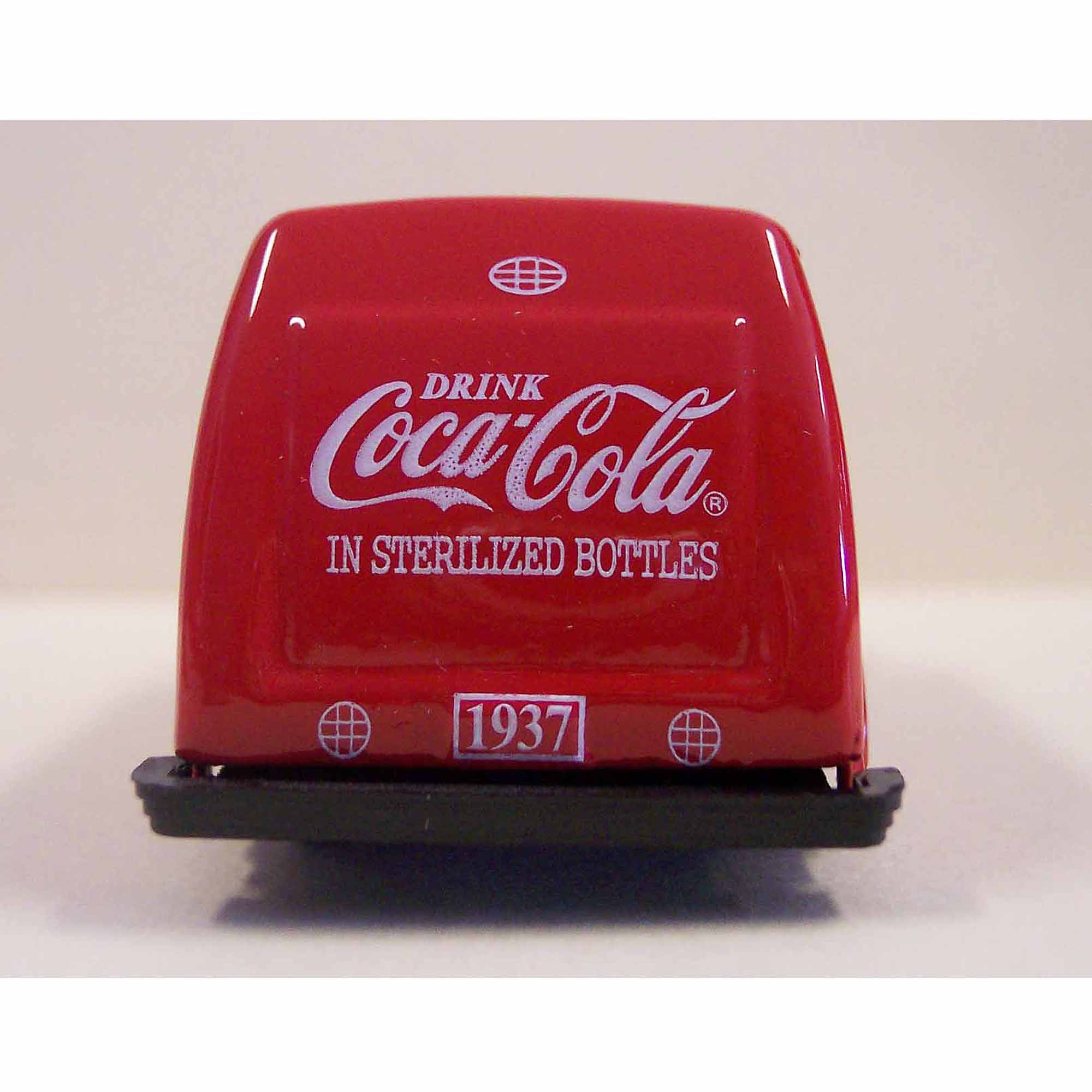 1:87 Scale 1937 Coca, Cola Bottle Truck, Red
