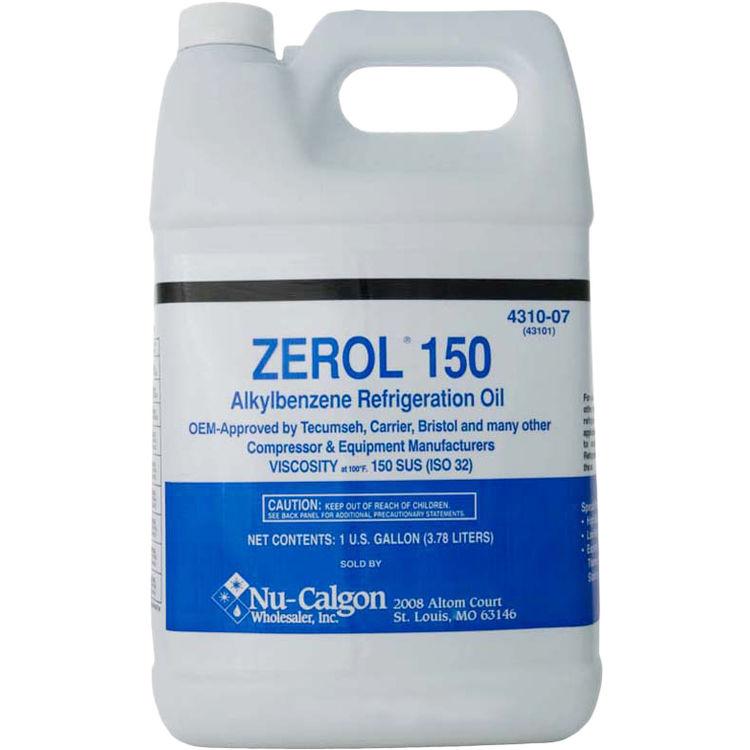 Nucalgon 4310-07 1 Gallon Zerol 150 SUS Refrigerant Oil
