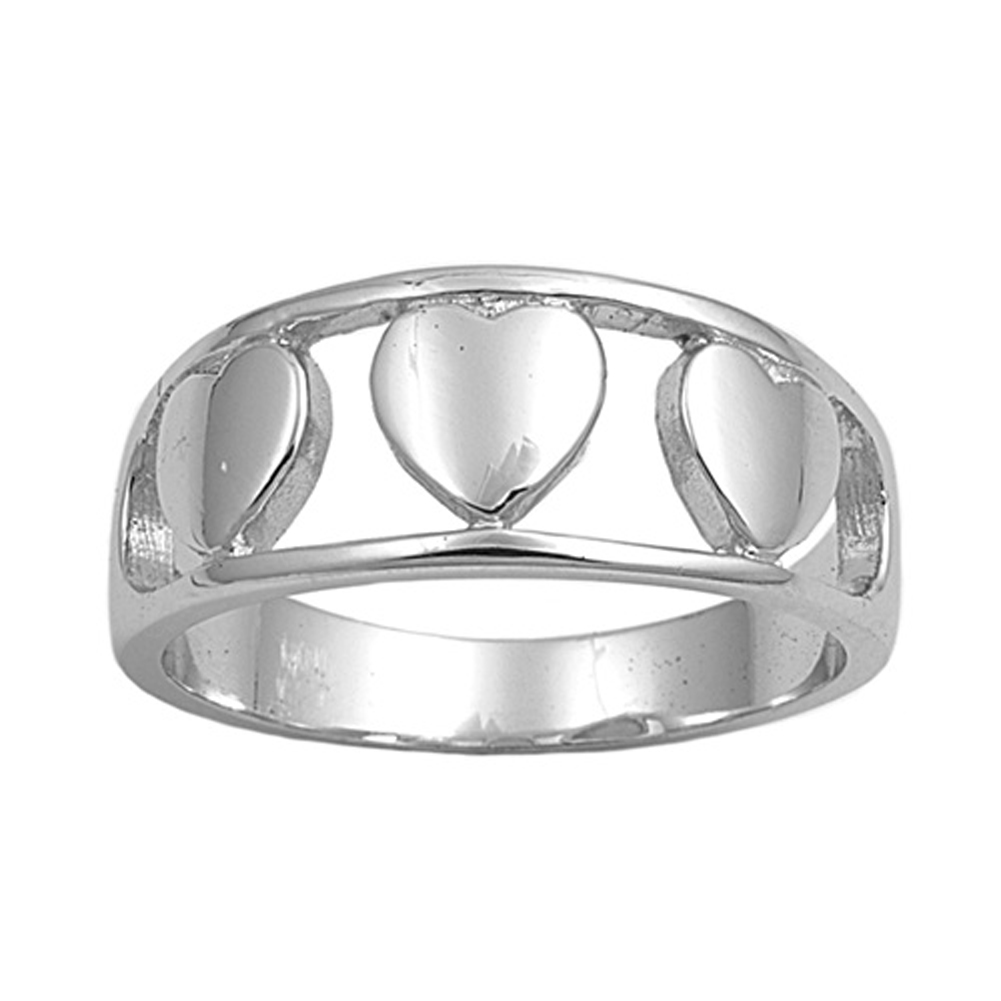 sterling silver s plain promise ring sizes 5