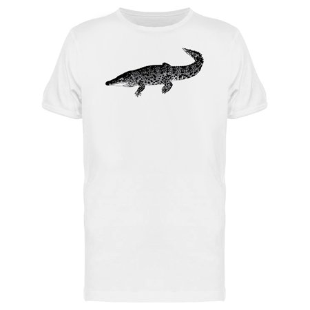 Crocodile Short (Crocodile Sketch Sideview Tee Men's -Image by Shutterstock)