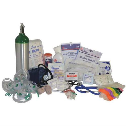 MEDSOURCE MS-75166 First Aid Kit, Contents Only, Serve 1 to 6