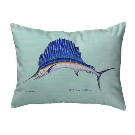 Betsy Drake KS006 11 x 14 in. Sailfish Small No-Cord Pillow - image 1 of 1