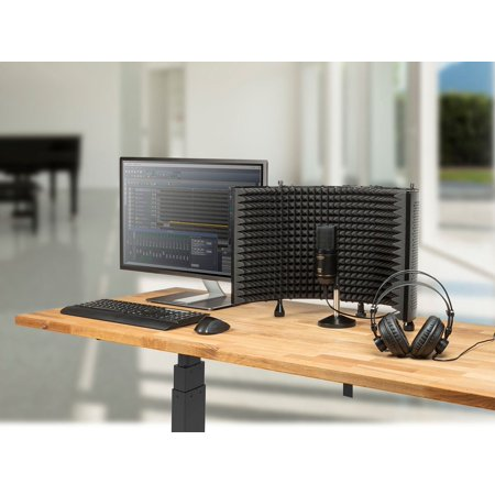 Stage Right Podcast PRO Bundle with Mic Isolation Shield