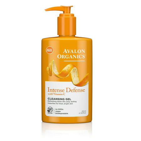 Avalon Organics Intense Defense Cleansing Gel, 8.5 oz. ()