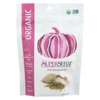 Superseedz Organic Pumpkin Seeds - Pink Himalayan - Case of 6 - 4 oz