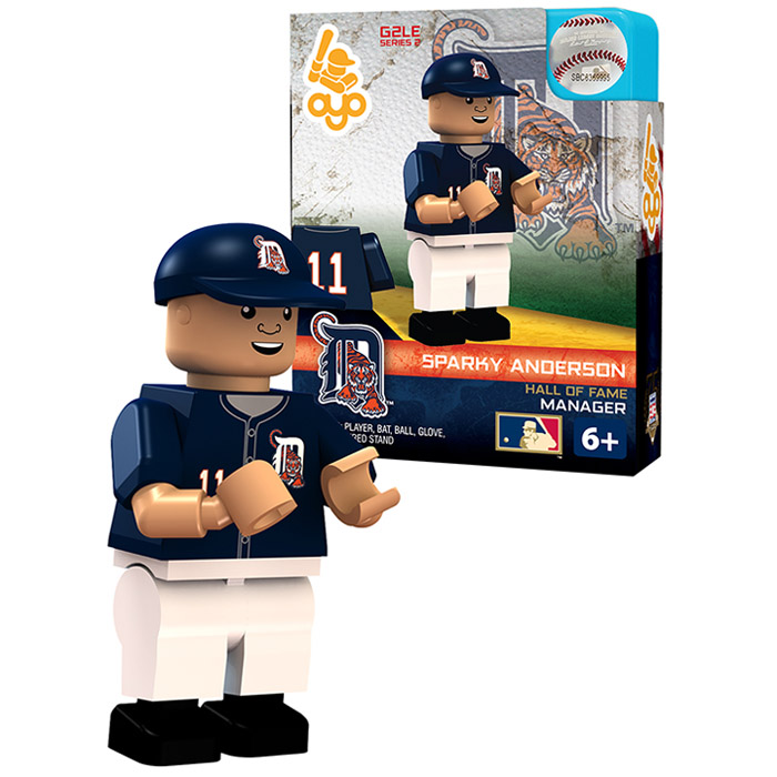 Sparky Anderson Detroit Tigers OYO Sports Player MLB Minifigure - No Size
