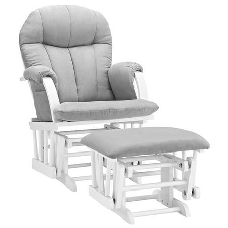 Phenomenal Angel Line Riley Glider And Ottoman Walmart Com Ncnpc Chair Design For Home Ncnpcorg