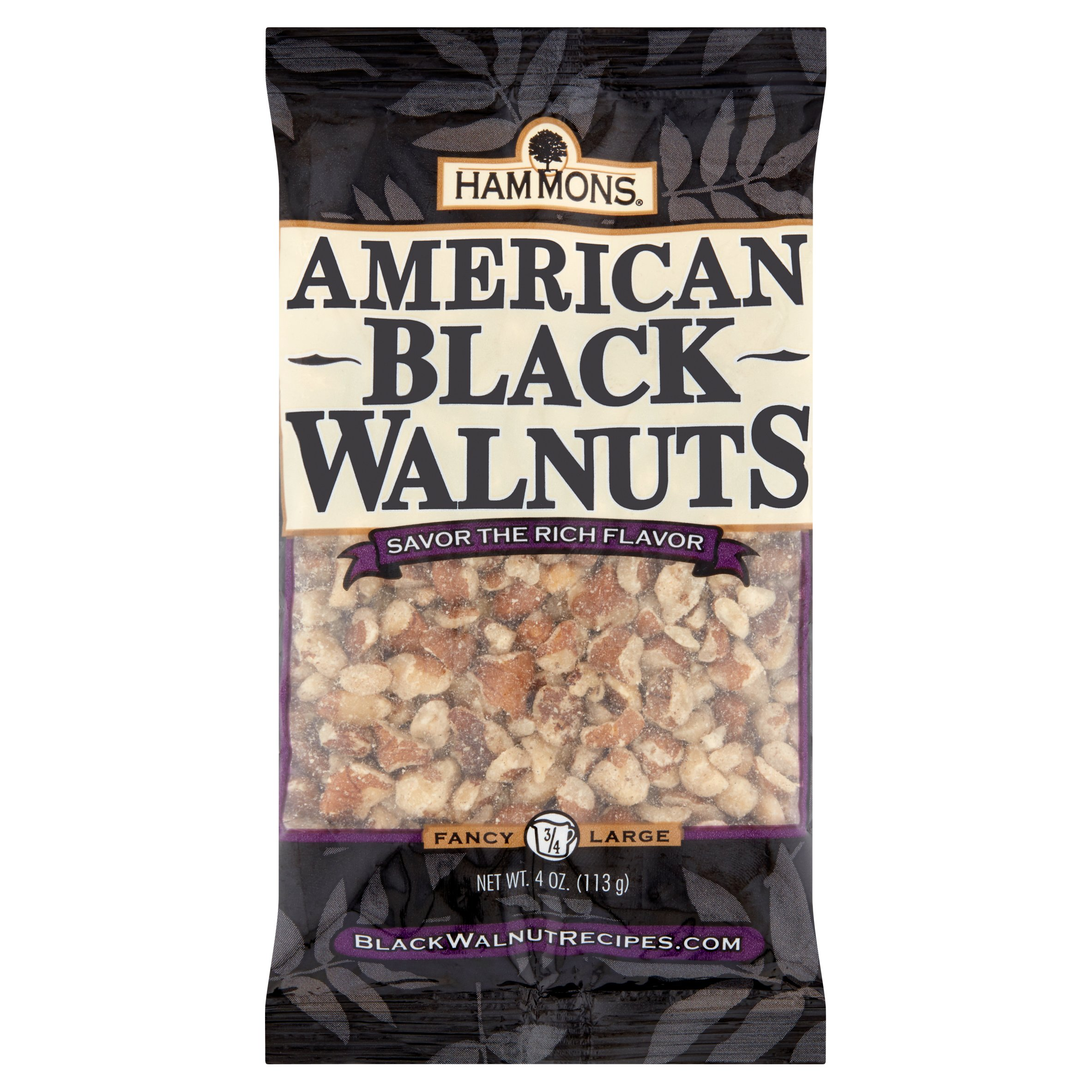 Hammons American Black Walnuts, 4 oz
