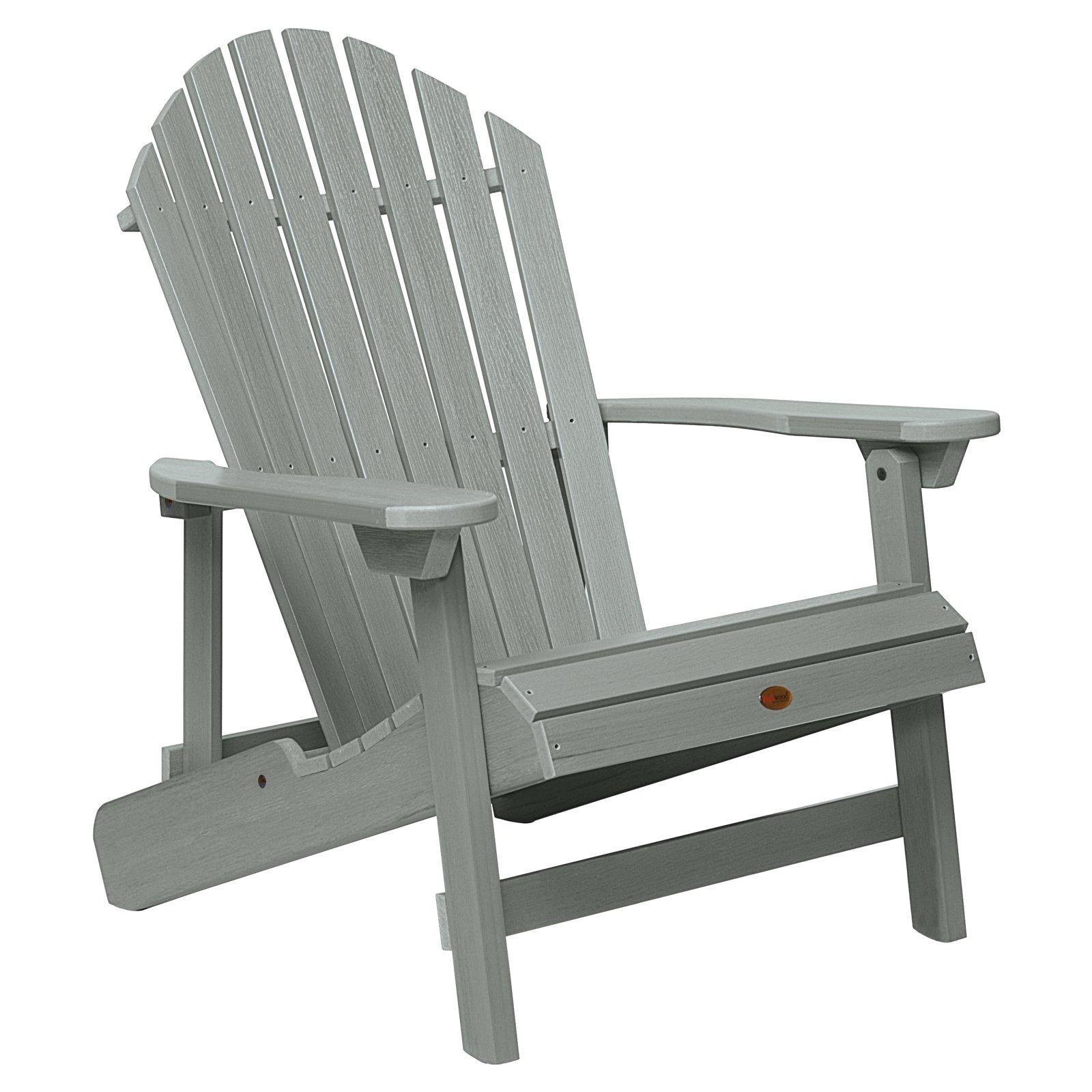 highwood KING Hamilton Folding & Reclining Adirondack Chair by Adirondack Furniture