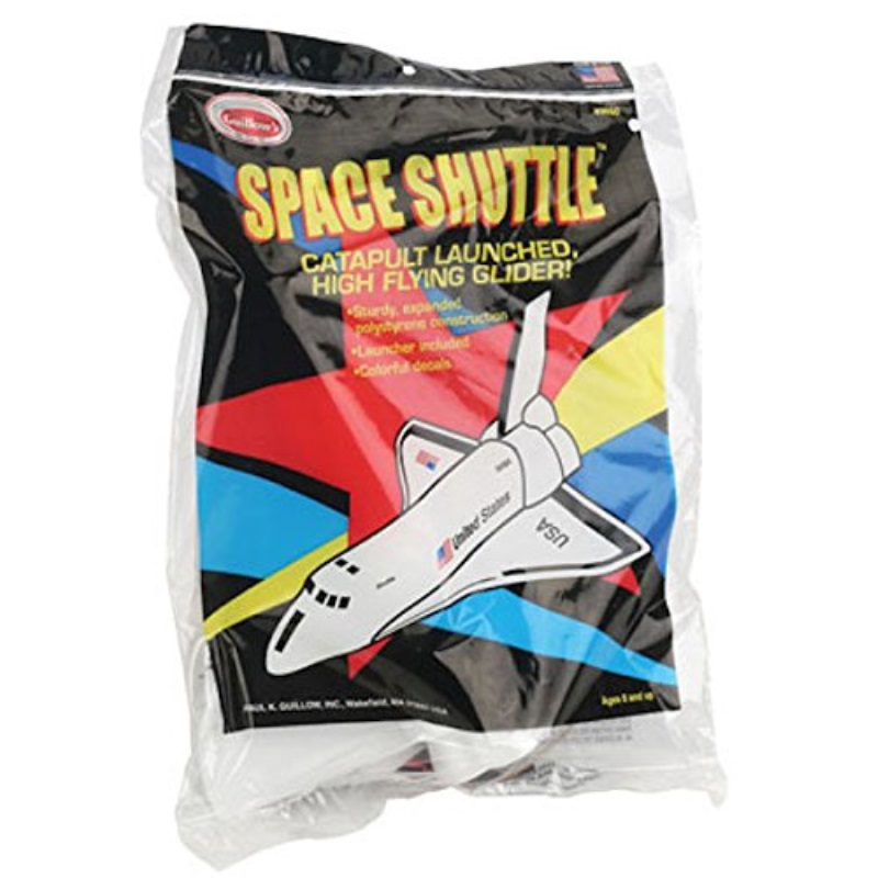 Guillow's Space Shuttle Foam Glider Model Kit