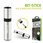 Cellet BIT-STICK 3.5mm Auxiliary & Wireless Music Receiver Adapter for Apple iPhone 7, 8, 7 Plus, 8 Plus and any other capable devices