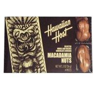Hawaiian Host Chocolate Covered Whole & Halves Macadamia Nuts, 2 Oz.