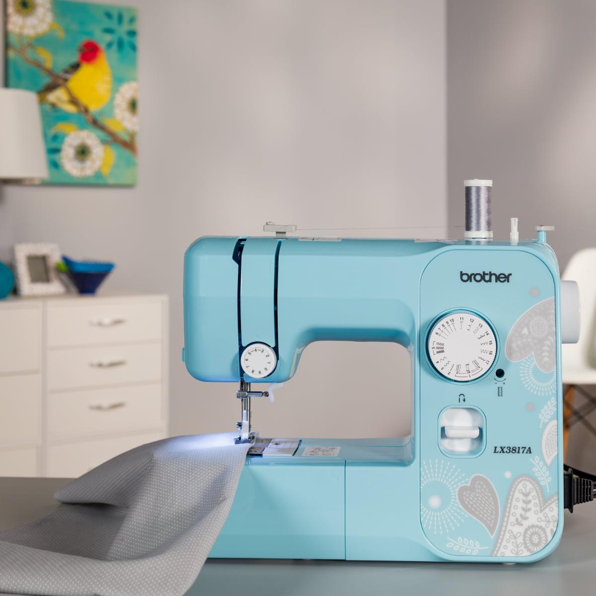 Brother Full-Size Sewing Machine 17 Stitch LX3817A