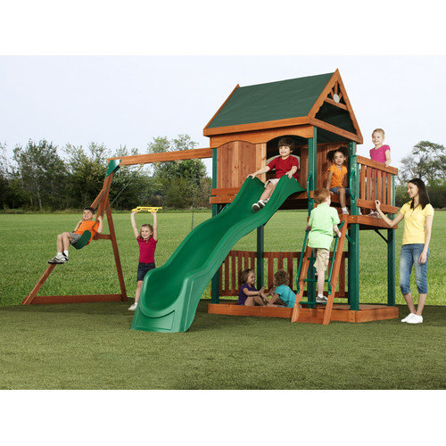 Wildon Home Design 4 Swing and Play Set