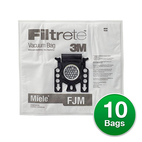 Filtrete Vacuum Bag for Miele 68704/Type F, J, M (2 Pack)