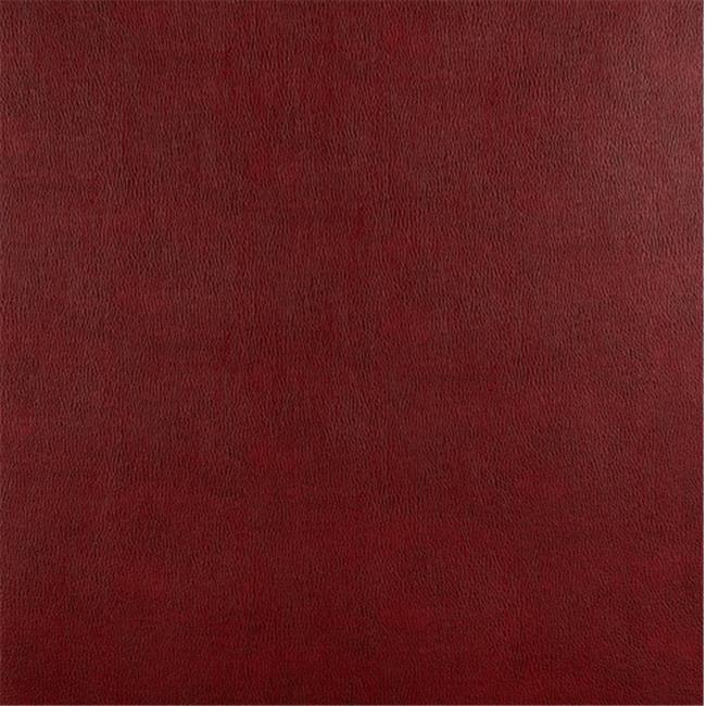 Designer Fabrics G548 54 in. Wide Burgundy, Upholstery Grade Recycled Leather
