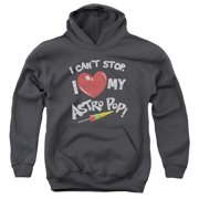 Astro Pop I Heart Big Boys Pullover Hoodie