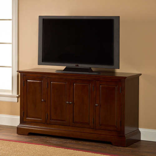 Hillsdale Furniture Maison Cherry Four-Door Console for TVs up to 50""