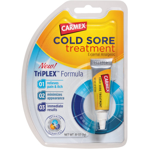 Carmex Cold Sore Treatment, 0.07 oz