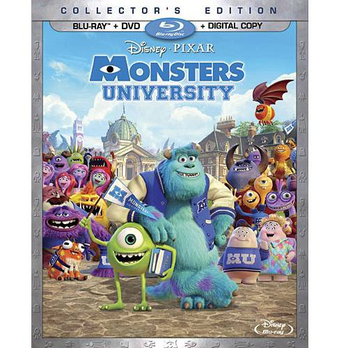 Monsters University (2-Disc Blu-ray + DVD + Digital Copy) (Widescreen)