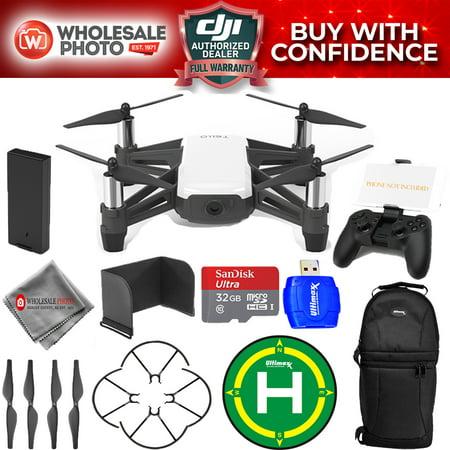 DJI Tello Quadcopter by Ryze Tech W/ T1d Controller Pro Bundle