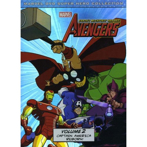 Marvel: The Avengers - Earth's Mightiest Heroes! Volume 2 (Widescreen)