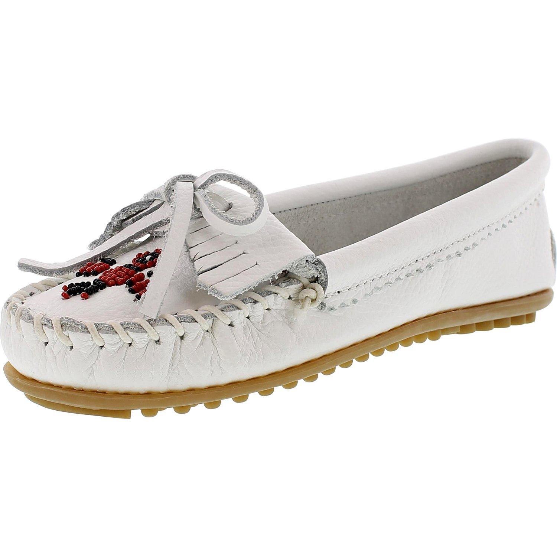 Minnetonka Women's Thunderbird Ii Ankle-High Leather Flat Shoe