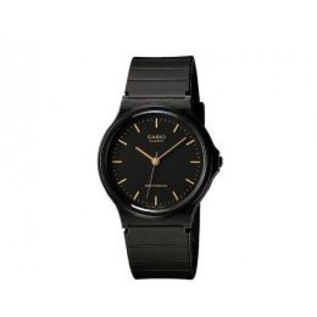Casio MQ-24-1ELCK 3-hand Analog Wr Black/gold ()