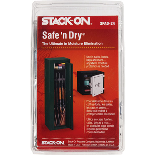 Stack-On Safe 'n Dry Desiccant, 4-Pack