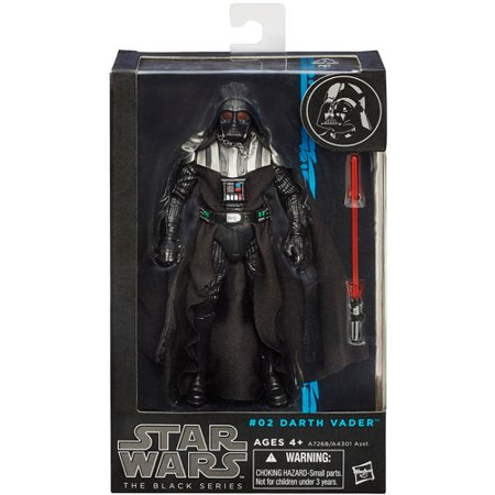 Darth Vader Star Wars The Black Series 6-Inch Action Figure #02