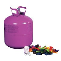 Helium Tank Kit for Party (includes balloons and ribbon)