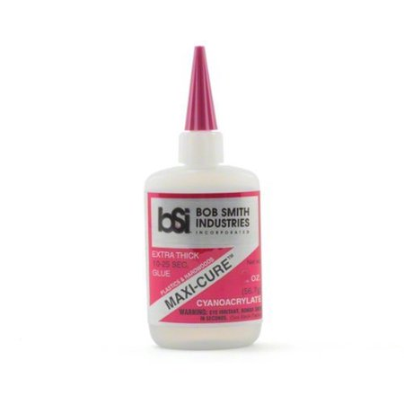 BSI Maxi Cure Extra thick CA .5 oz two bottles